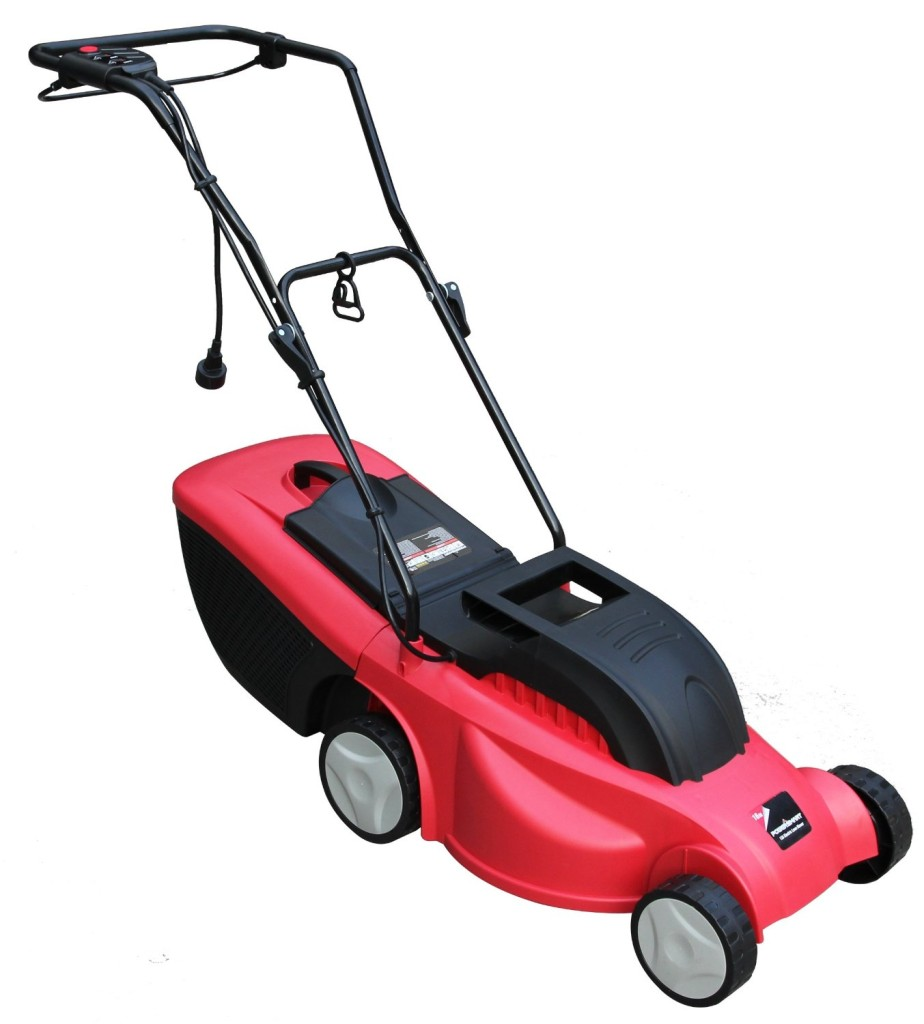 Power Smart DB6806 12-Amp Electric Lawn Mower, 16-Inch