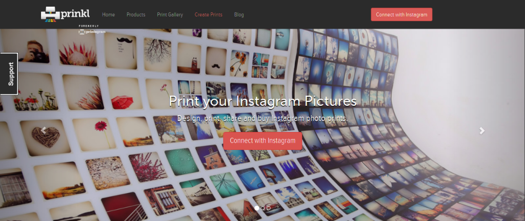Print your Instagram Pictures with Prinkl