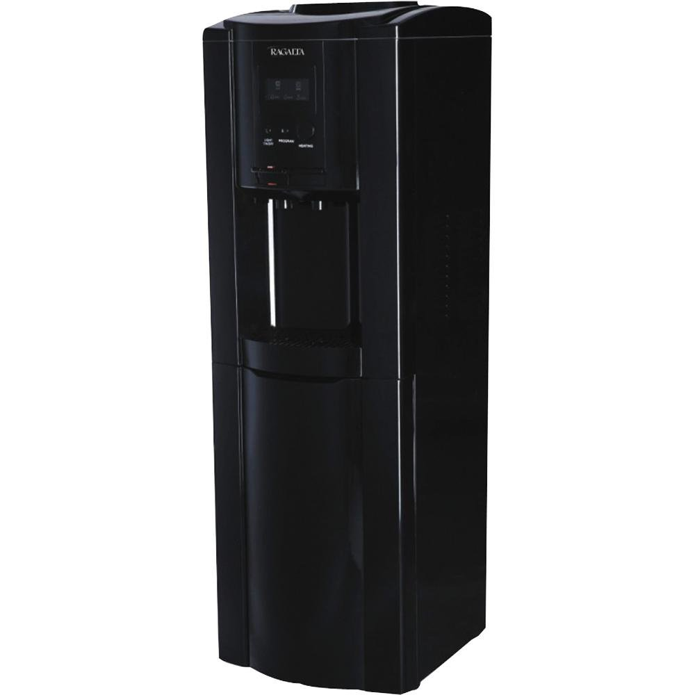 ragalta rwc320 black electronic water cooler with hot and cold dispenser