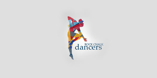 Rock Chalk Dancers logo design