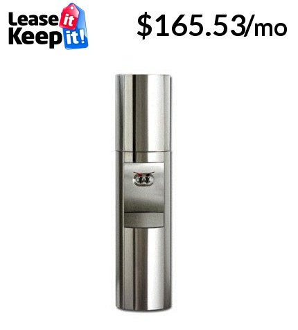 S2 Stainless Steel Triple Bottled Water Cooler with Energy Star Compliant Finish Stainless Steel Temperature HotCold