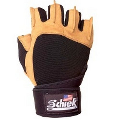 Schiek 425 Power Lifting Gloves with Wristwrap