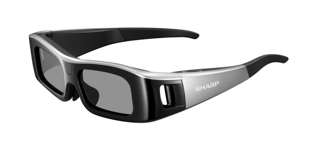 Sharp HE AN310G10-S Active Matrix 3D Glasses - Black