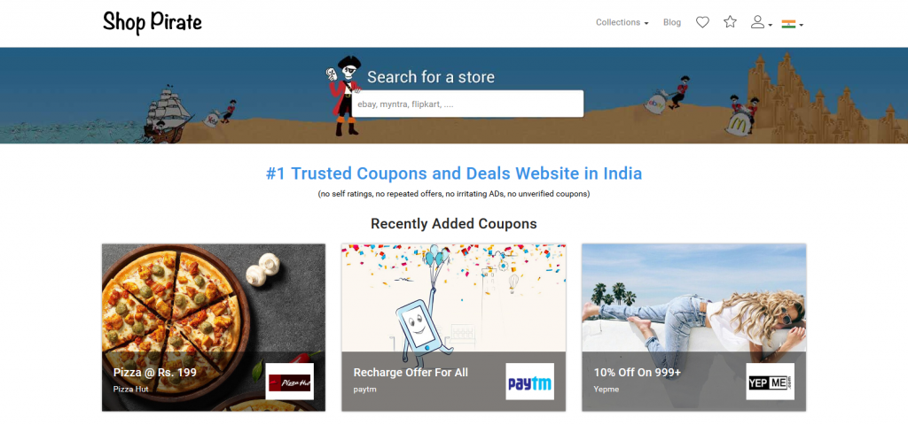Shop Pirate – Get Coupons, promo codes and Discounts