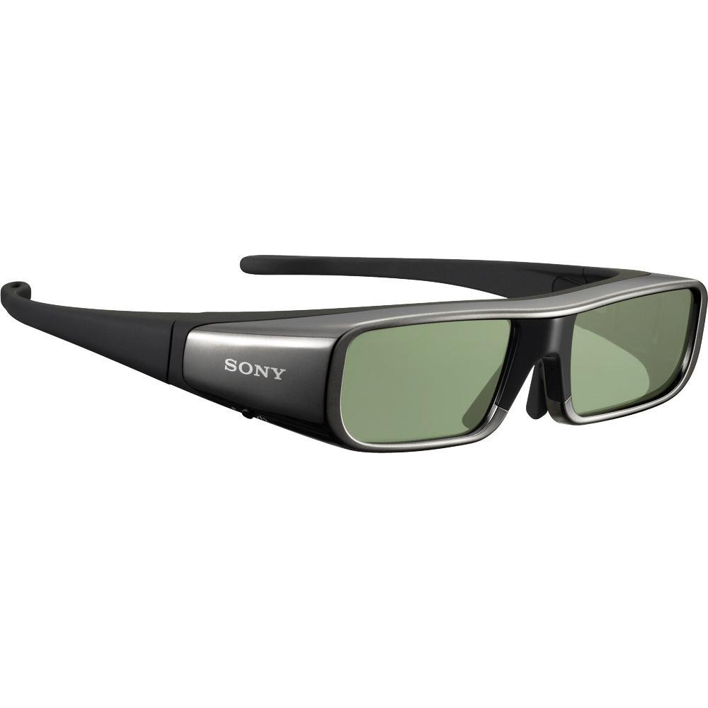 Sony TDG-BR100 Adult Size 3D Active Glasses, Black