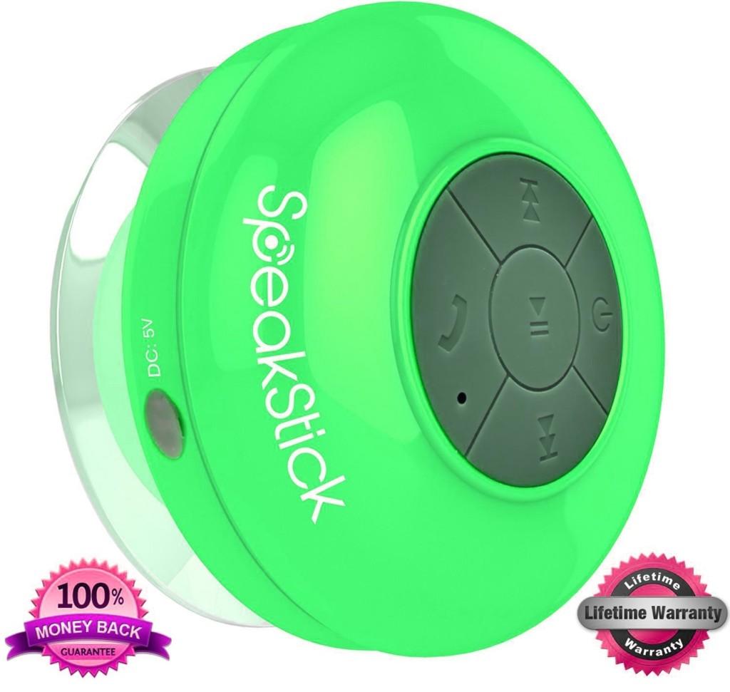 SpeakStick Bluetooth Shower Speaker