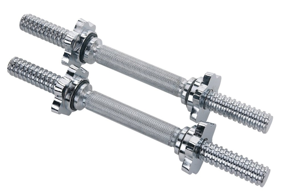 Sunny Health & Fitness Sunny Health & Fitness 14 in. Chrome Dumbbell Bar