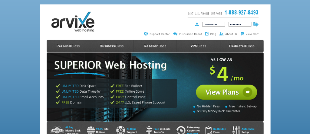 Web Hosting I Shared Hosting I Website Hosting by Arvixe
