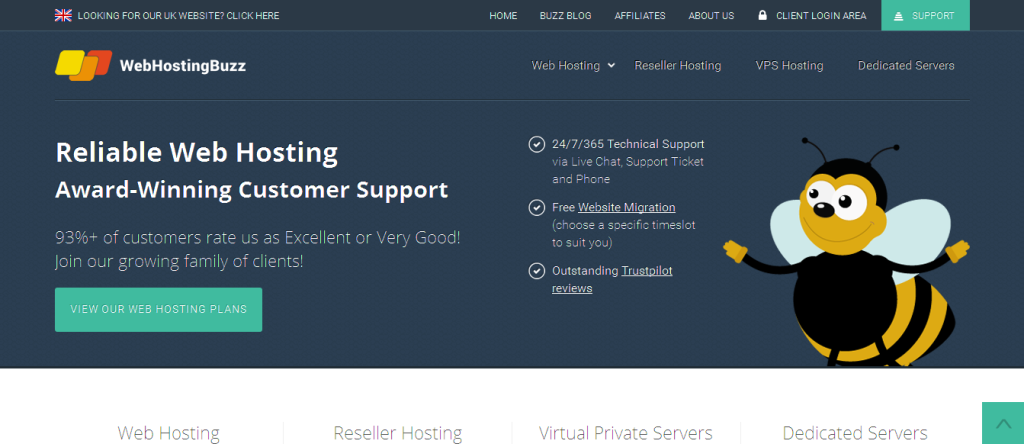 Web Hosting, Reseller Hosting and VPS Hosting Services – WebHostingBuzz