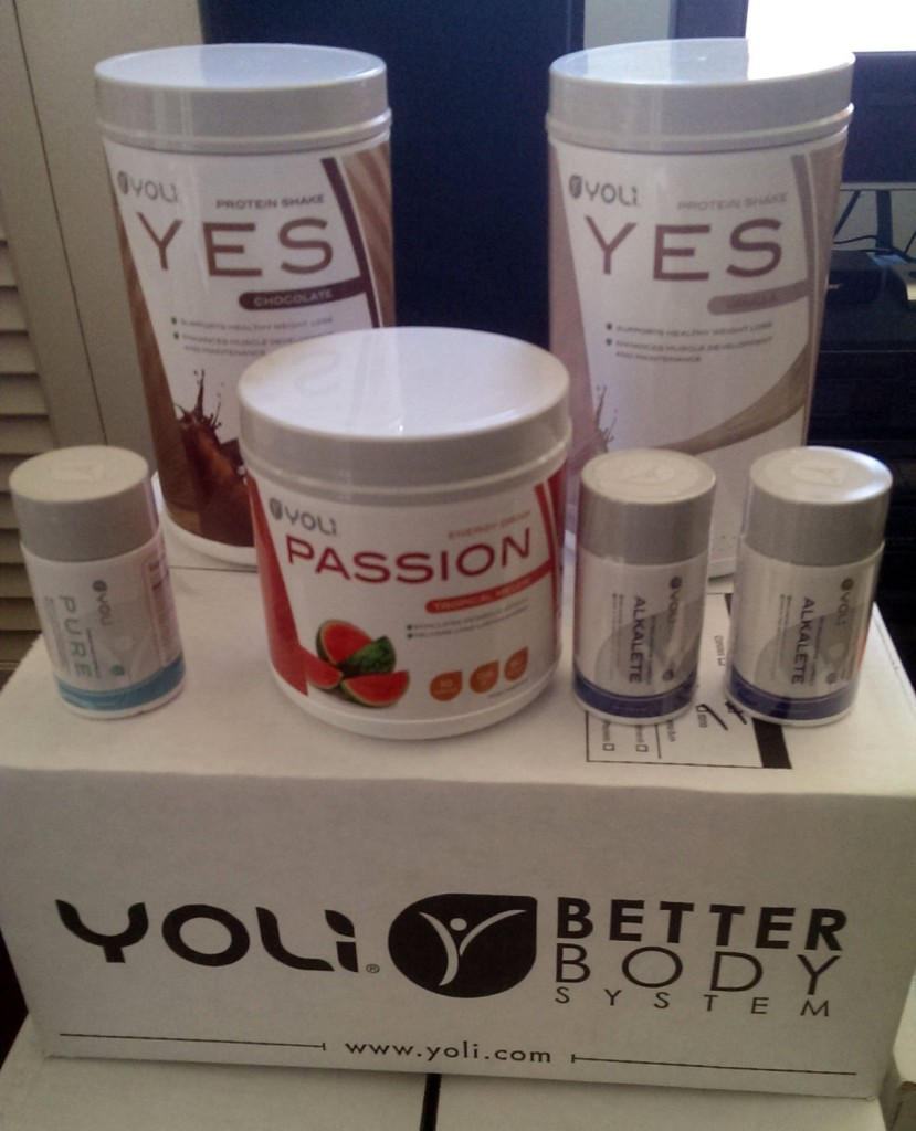 Yoli Better Body System - Transformation Kit Weight Loss System