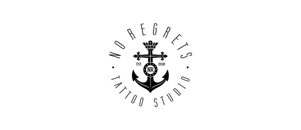 anchor logo design examples no regrets https://toppersworld.com/30-cool-anchor-logo-designs-for-inspiration/