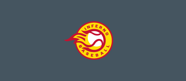 design baseball sun logo 15