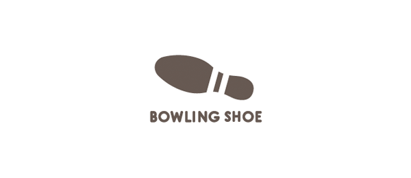 design bowling shoe logo design
