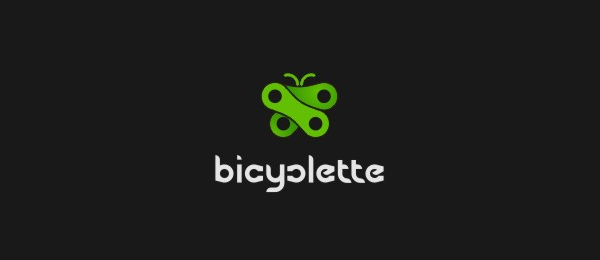 butterfly logo bicycle manufacturer Design 37