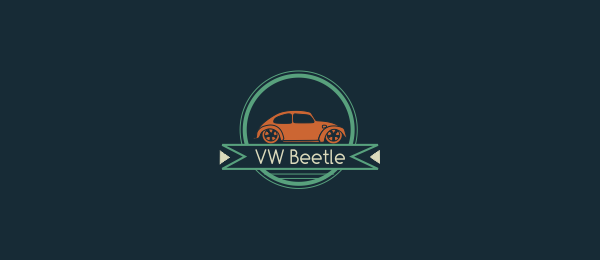 car logo design beetle 25