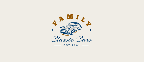 car logo design family 22