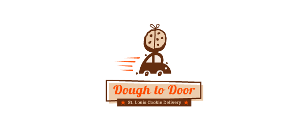car logo design food deliver 53