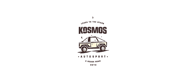 car logo design kosmos 15