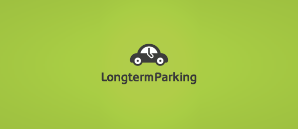 car logo design long term parking 48