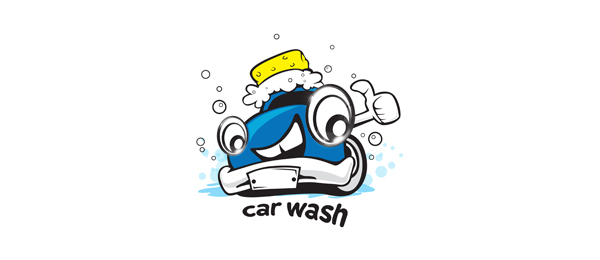 car wash logo design 52