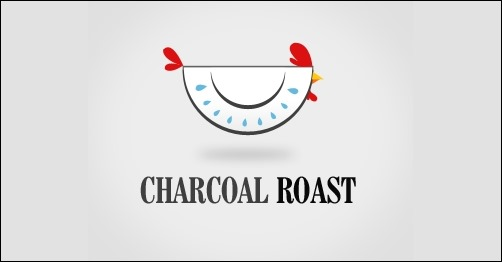 logo design charcoal-roast-