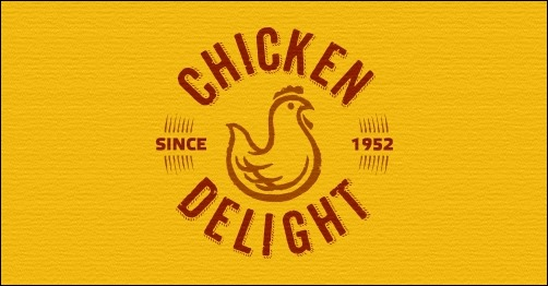 logo design chicken-delight-