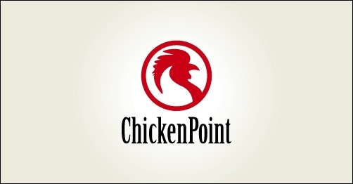 logo design chickenpoint-