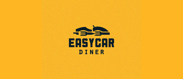 easy car diner logo 24