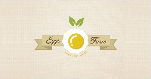 logo design eggs-farm-