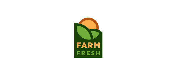 design farm fresh sun logo 32