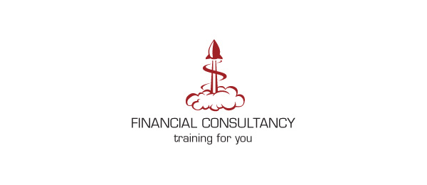financial rocket logo 41
