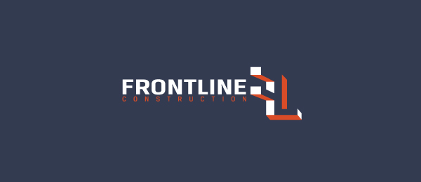 frontline construction logo 3d f design examples https://toppersworld.com/creative-construction-logo-ideas/