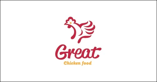 Chicken food logo - photo#2