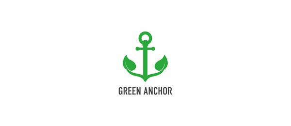 green anchor logo design examples https://toppersworld.com/30-cool-anchor-logo-designs-for-inspiration/
