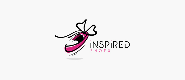 design inspired shoes logo design