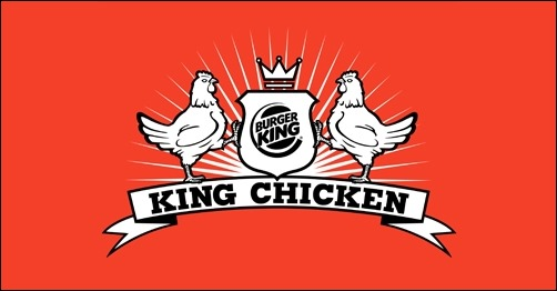 logo design king-chicken-