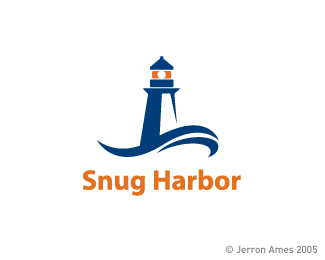 30 Wonderful Lighthouse Logo Designs For Inspiration