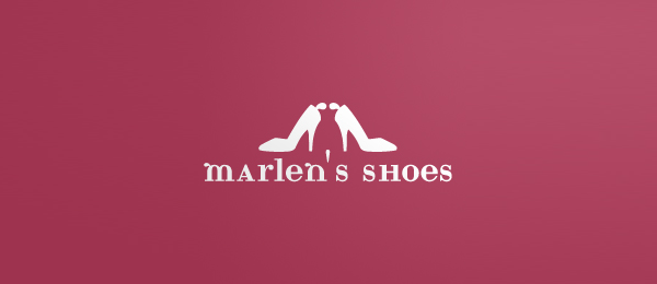 design marlens shoes logo