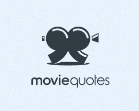 movie quotes examples of Film Logo Design