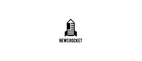 news rocket logo idea 46