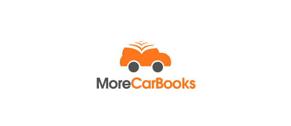 orange car logo books 28