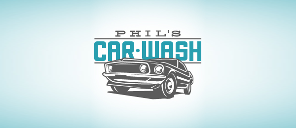 phils car wash logo 13