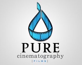pure cinematography examples of Film Logo Design