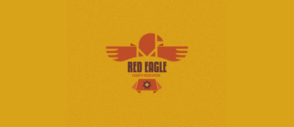 red eagle charity association 4 https://toppersworld.com/cool-eagle-logo-designs-inspiration/