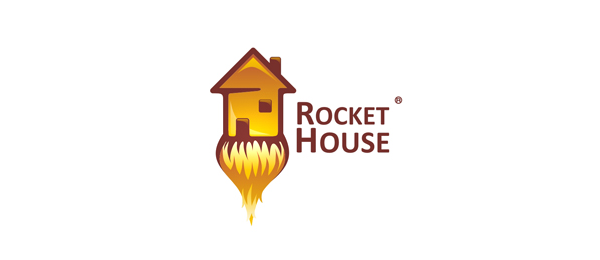 rocket house logo 33