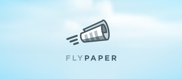 rocket logo fly paper 2