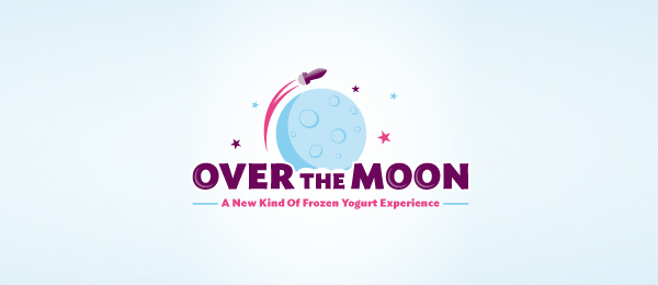 rocket over the moon logo 18