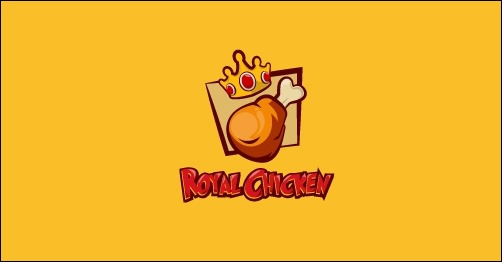 logo design royal-chicken-