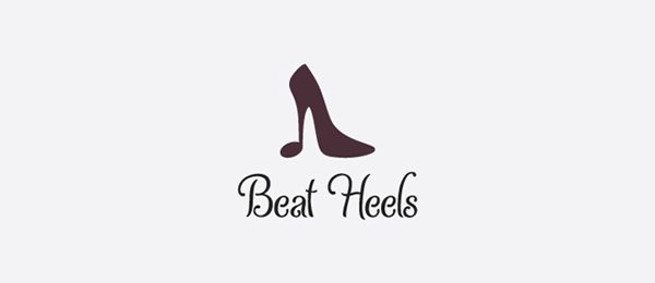 design shoe logo beat heels