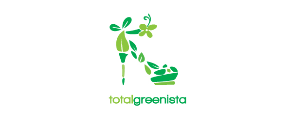 design shoe logo greenista